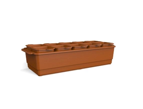 Ящик для рассады со стаканчиками BEROSSI Flora