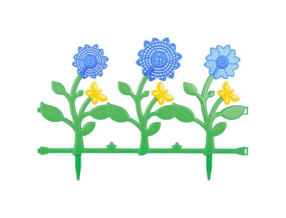 Ограждение Цветник №3 555х360 (6 штук)