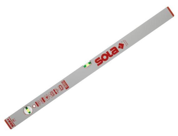 Уровень строительный SOLA AZB (2 глазка), 150 см