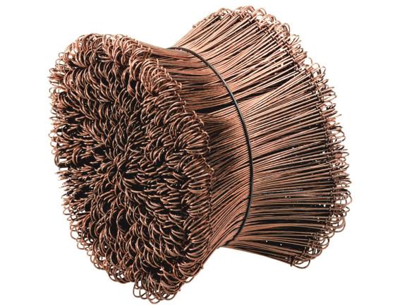 Проволока вязальная для арматуры (с петлями) 1,1мм (связка 1000шт) Kaufmann