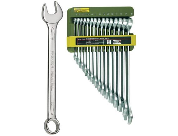 Набор комбинированных ключей Proxxon Industrial Slim line (15 штук)