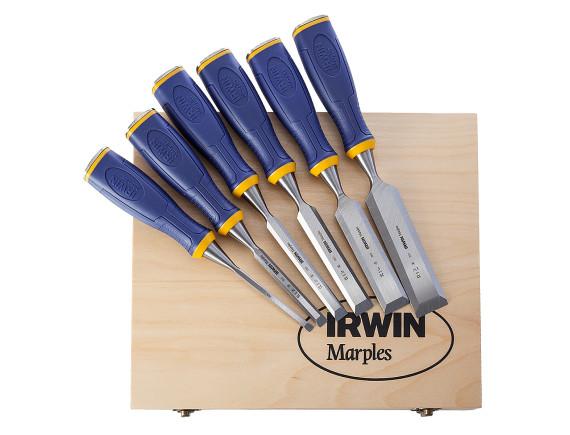 Набор стамесок Irwin MS500 в деревянной коробке