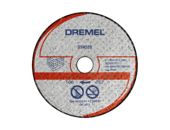 Отрезной диск Dremel DSM20 для камня (DSM520)