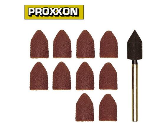 Шлифовальные конусы с держателем (10 шт.) Proxxon (28987)