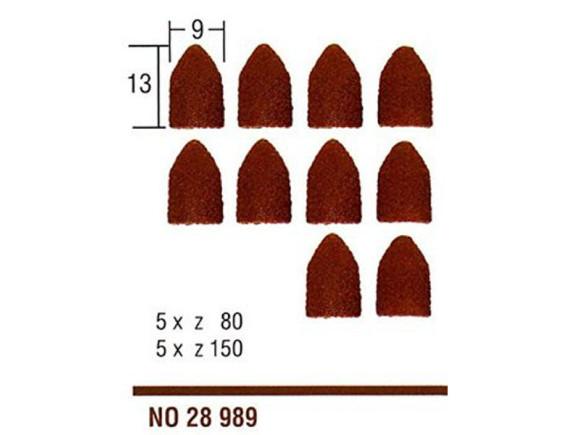 Сменные шлифовальные конусы (10 шт.) Proxxon (28989)