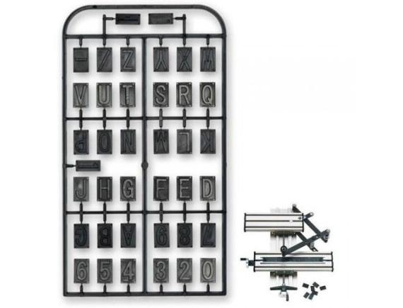 Набор букв и цифр для гравировального приспособления GE 20 Proxxon (27104)
