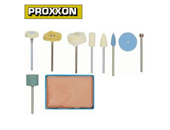 Набор для полировки (10 предметов) Proxxon (28285)