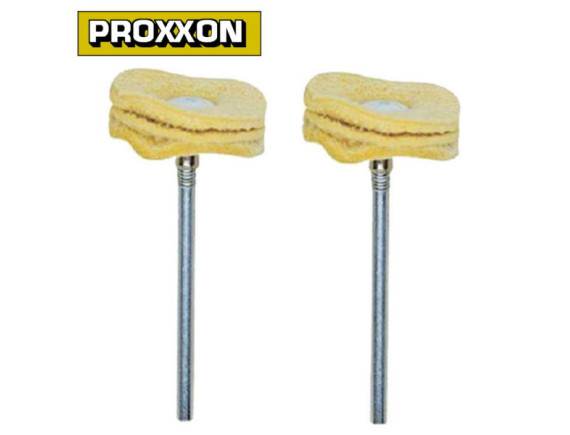 Полировальная насадка, замша 22 мм (2 шт.) Proxxon (28298)