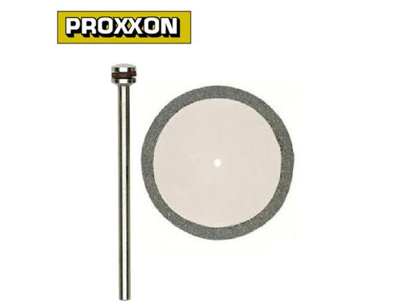 Отрезной диск алмазный 20 мм с дискодержателем Proxxon (28840)