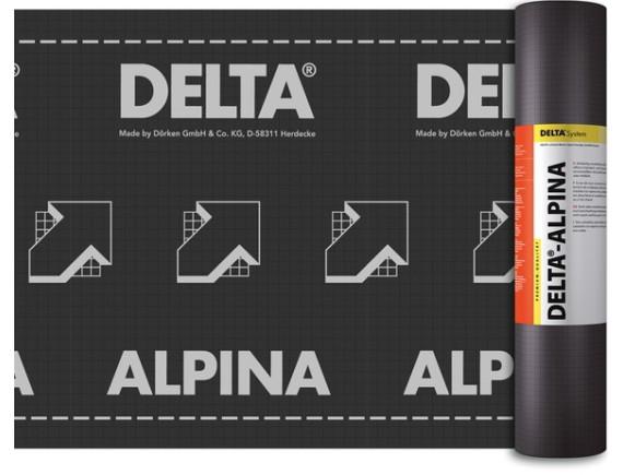 Гидроизоляционная диффузионная мембрана DELTA-ALPINA