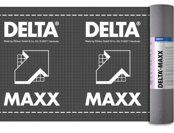 Гидроизоляционная диффузионная пленка с антиконденсатным слоем DELTA-MAXX