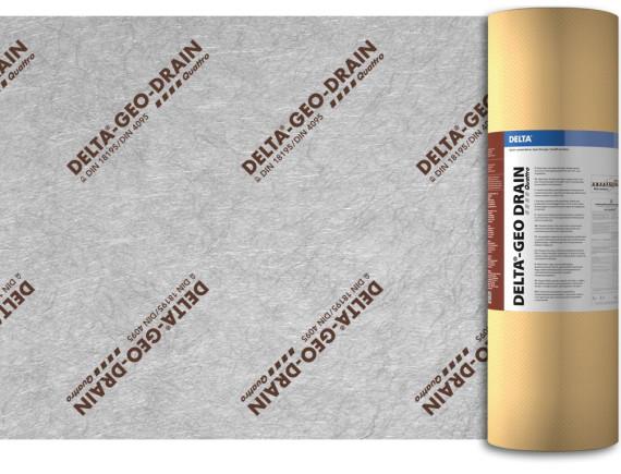 Дренажно-защитная мембрана DELTA-GEO-DRAIN Quattro