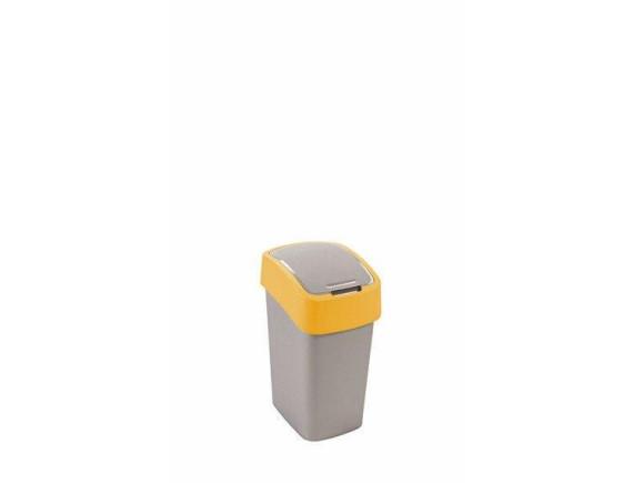 Контейнер для мусора Curver Flip Bin 10L (оранжевый)