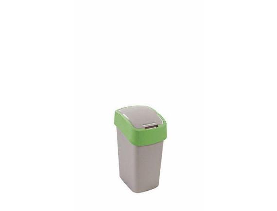 Контейнер для мусора Curver Flip Bin 10L (зеленый)