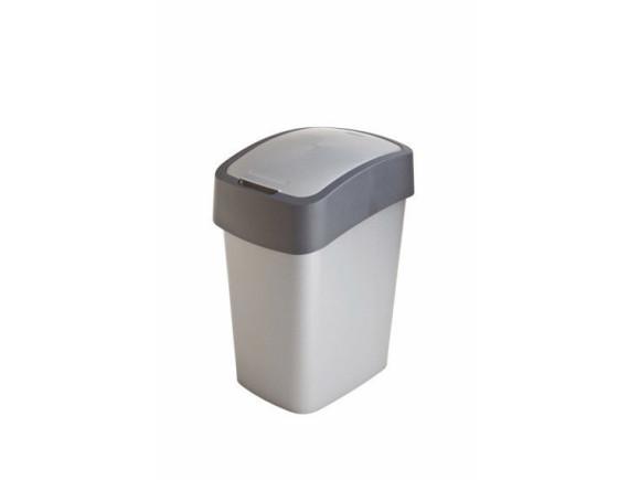 Контейнер для мусора Pacific Flip Bin 25 л, серый/графит