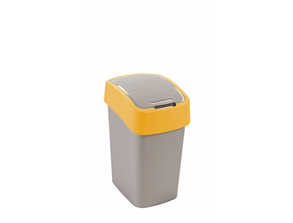 Контейнер для мусора Pacific Flip Bin 25 л, серый/оранжевый