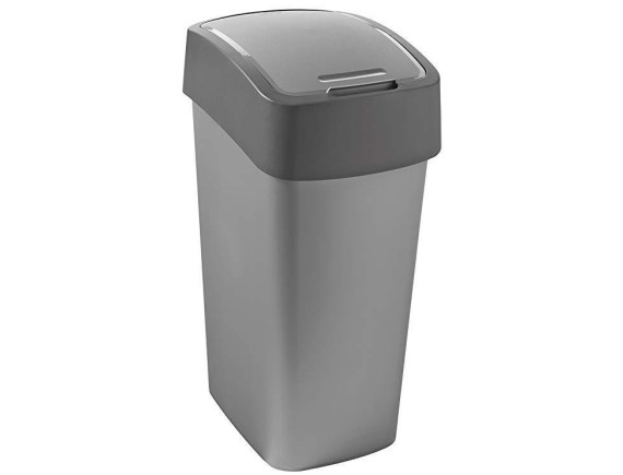 Контейнер для мусора Pacific Flip Bin 50 л, серый/графит