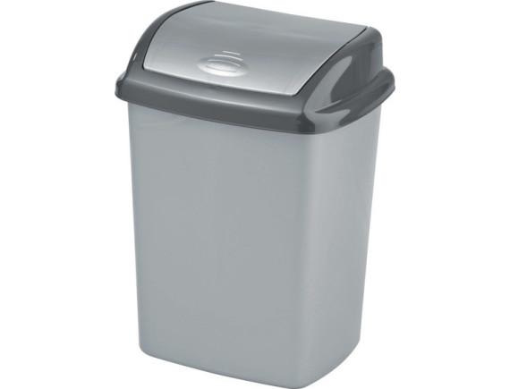 Контейнер для мусора Refuse Bin Swing 25 л, серый/графит