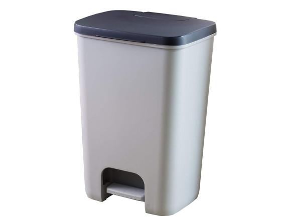 Контейнер для мусора с педалью, рамкой и лотком Essentials 40 л