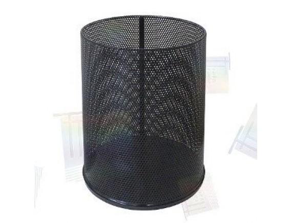 Урна для бумаги K 250 низкая перф (черная, белая, бордо)
