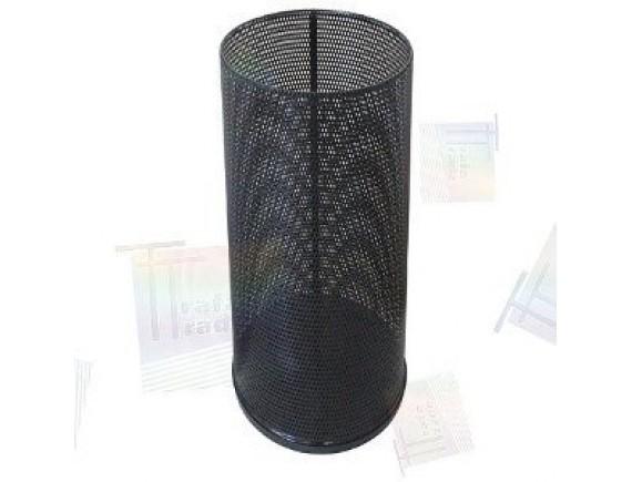 Урна для мусора 250 перф (черная, белая, бордо)