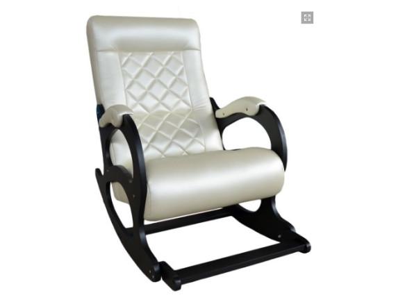 Кресло-качалка Бастион 2 Ромбус с подножкой Bone