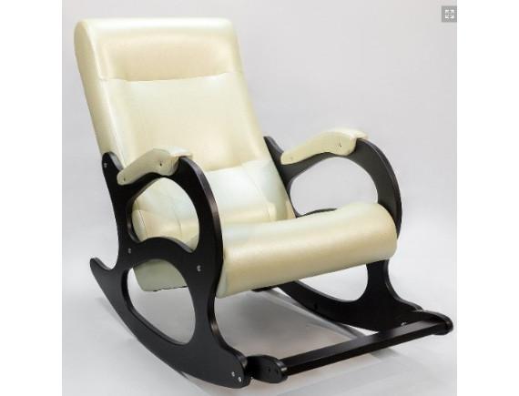 Кресло-качалка Бастион 2 с подножкой Bone