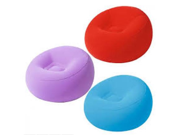 Кресло надувное Bestway Inflate-A-Chair, 112х112х66см+ремкомплект
