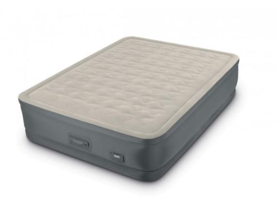 Надувная кровать Premaire II Elevated Airbed 152х203х46см со встроенным насосом 220V, Intex