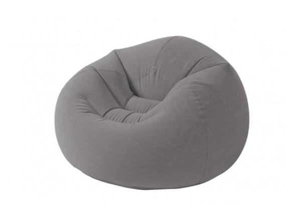 Надувное кресло Intex Beanless Bag Chai 107х104х69см