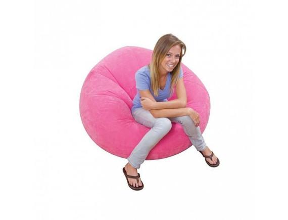 Надувное кресло Intex BEANLESS BAG CHAIR 107х104х69 см