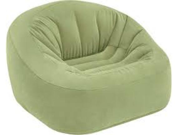 Надувное кресло Intex BEANLESS BAGTM CLUB CHAIR 124х119х76см