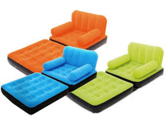 Надувное кресло-кровать Bestway Multi-Max Air Couch, 191x97x64см+ремкомплект