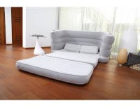 Надувной диван-кровать Bestway Multi-Max II Air Couch, 200х160х64см+2 подушки+ремкомплект