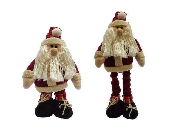 Санта с выдвижными ногами 40-50 см