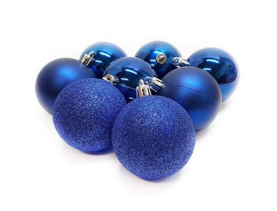 Набор шаров для елки (диаметр 5 см, 8 штук)