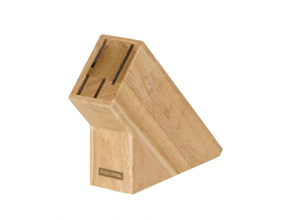 Блок деревянный для 4 ножей Tescoma