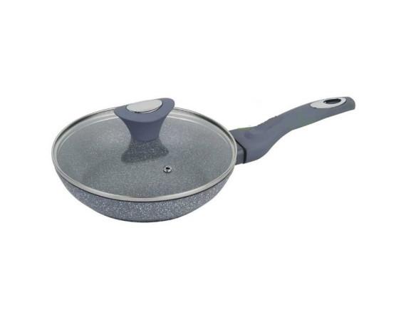 Сковорода алюминиевая 20 см с крышкой KLAUSBERG