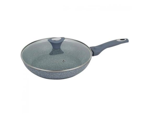Сковорода алюминиевая 24 см. с крышкой KLAUSBERG