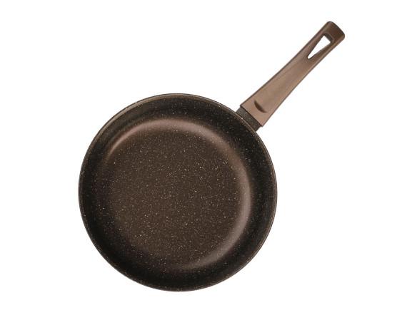 Сковорода с пластмассовой ручкой без крышки Биол (24076П)