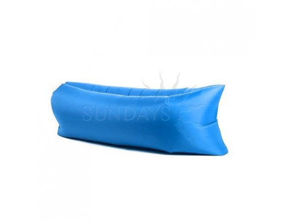 Надувной банан-матрас GC-BS001 голубой