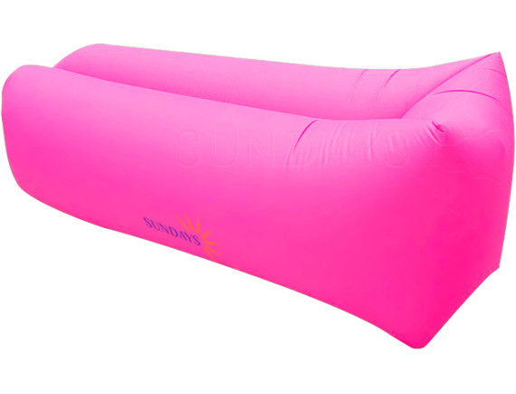 Надувной банан-матрас GC-BS001 розовый