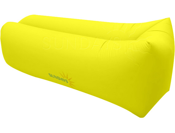 Надувной банан-матрас GC-BS001 желтый