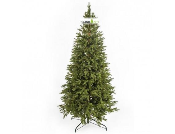Ель новогодняя Amelia зеленая литая GrandSITI