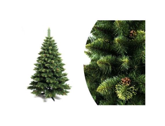 Ель (сосна) новогодняя Снежная Королева с зеленым напылением