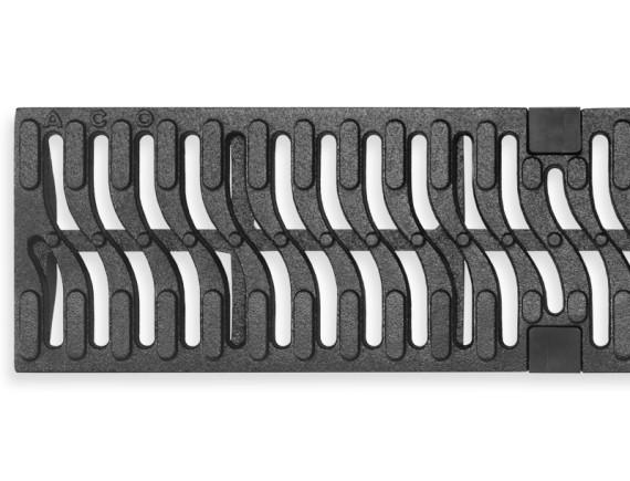 Чугунная решетка ACO Home для каналов  Multiline V100 (С 250)