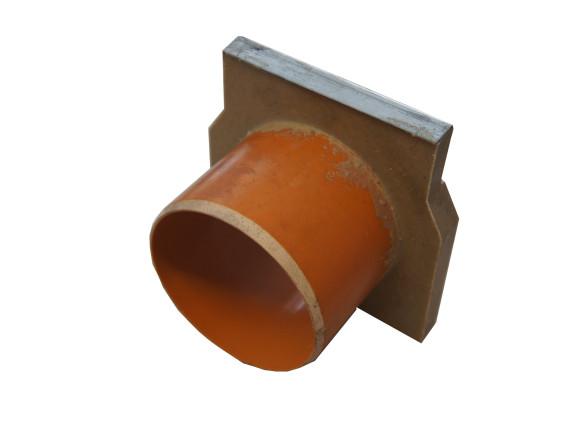 Торцевая стенка ACO Gala (полимербетон с патрубком Ø110 мм из ПВХ)