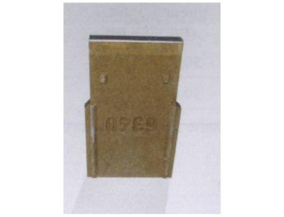 Торцевая стенка из полимербетона с кромкой из оцинкованной стали ACO Gala