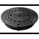 Канализационный люк чугунный ACO CityTop P Bituplan 140 (без вентиляционных отверстий, 680мм)