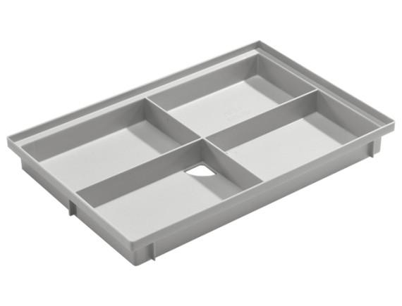 Поддон пластиковый для придверной решетки ACO Vario Light